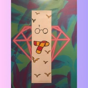 Harry Potter golden snitches bookmark